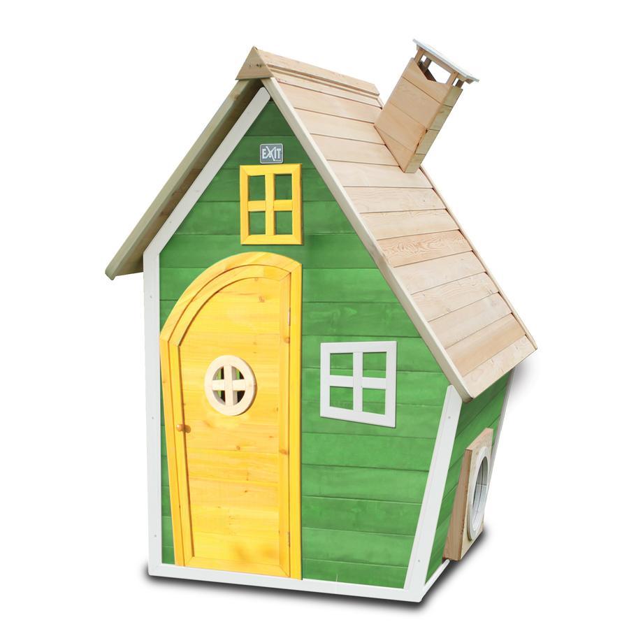 EXIT Dřevěný domeček Fantasia 100 zelený
