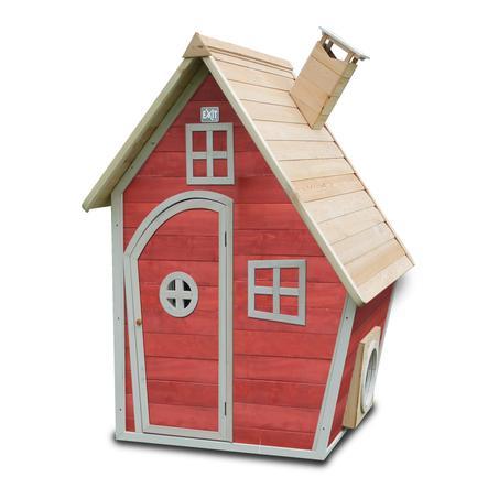 EXIT Drewniany domek Fantasia 100 czerwony