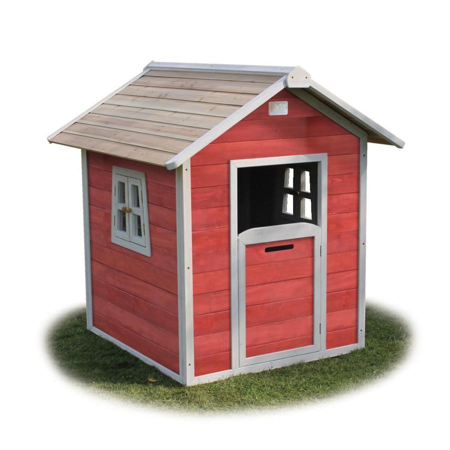 Casetta di legno EXIT Beach 100, rosso