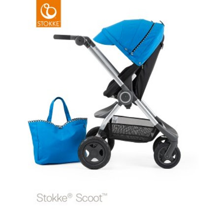 STOKKE® Kinderwagen Scoot Style Kit Racing Blue