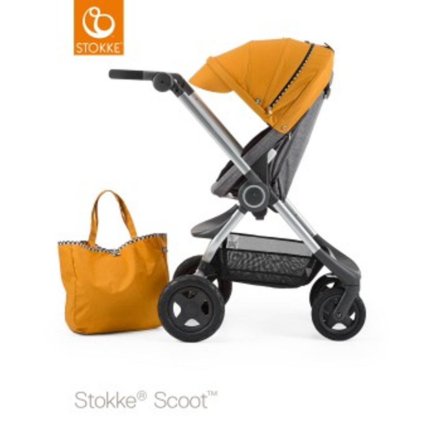 STOKKE® Kinderwagen Scoot Style Kit Racing Yellow