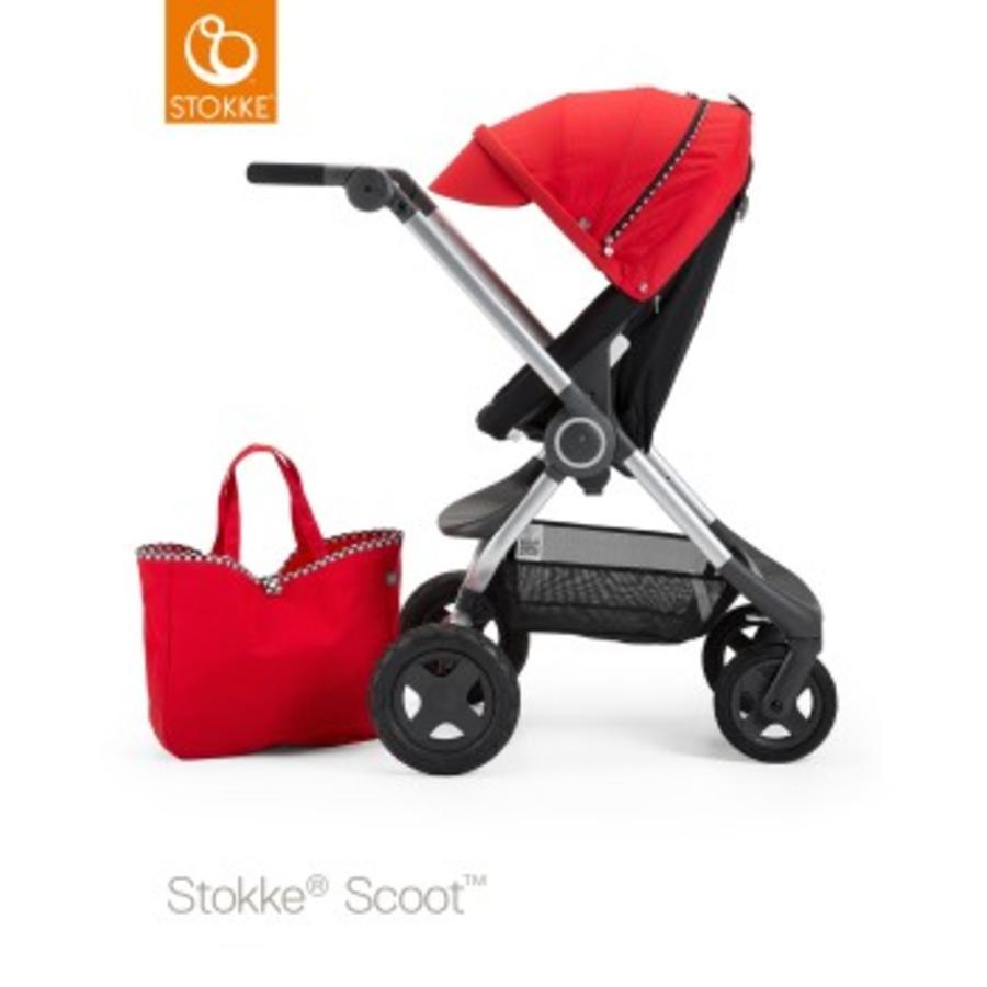 STOKKE® Kinderwagen Scoot Style Kit Racing Red