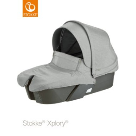 STOKKE® Xplory® Grau Babyschale Grey Melange