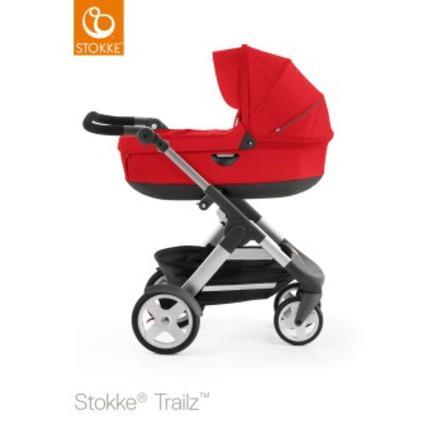 STOKKE® Trailz™ Kinderwagen mit Klassikrädern inklusive Babyschale Red