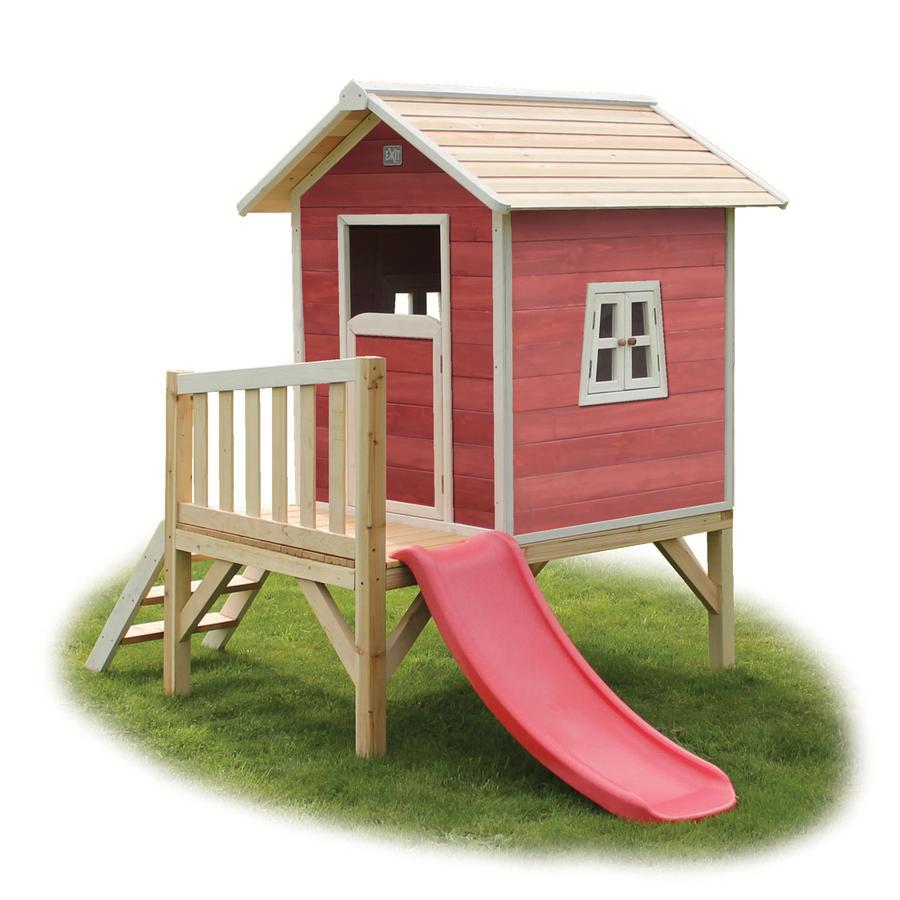 EXIT Holzspielhaus Beach 300, rot