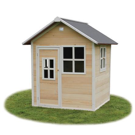 EXIT Drewniany domek zabaw Loft 100, naturalny