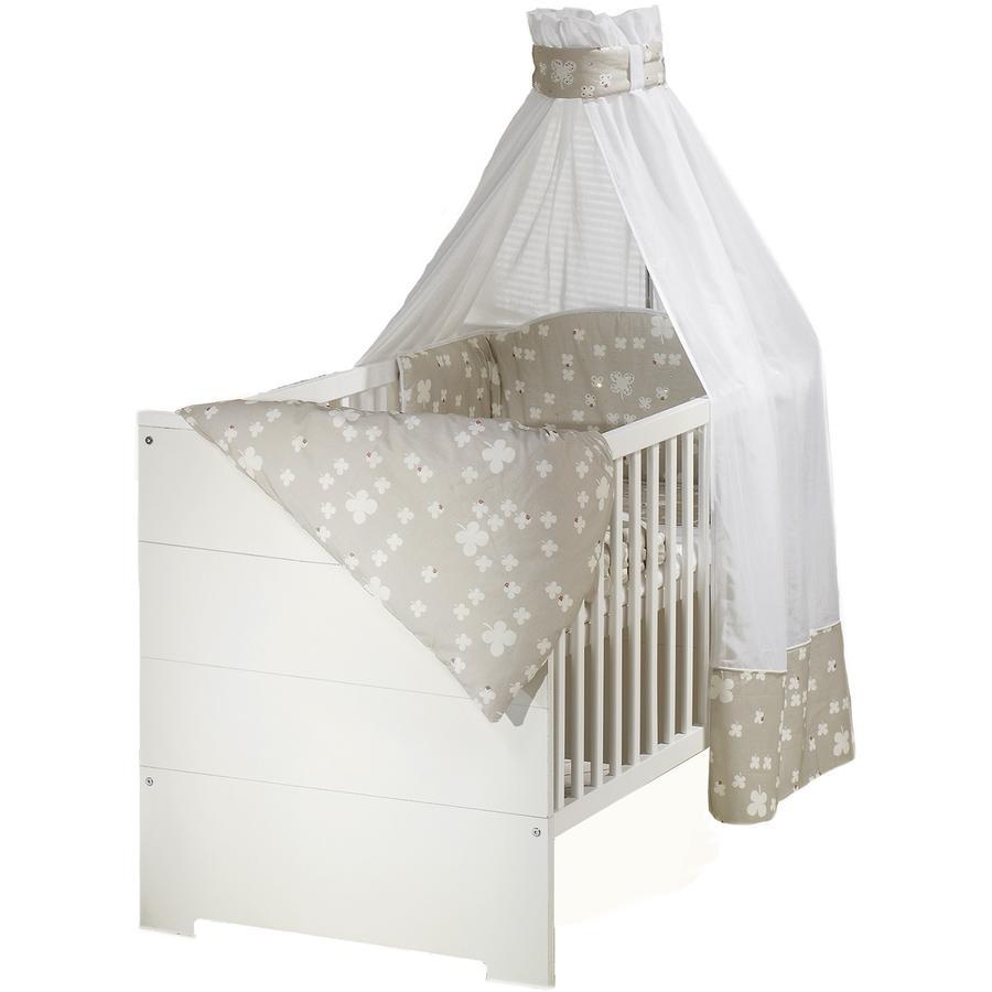 SCHARDT Eco Stripe Lit bébé évolutif 70x140 cm