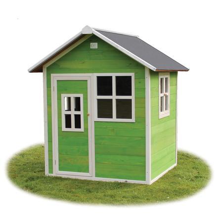 EXIT Dřevěný domeček Loft 100, zelený