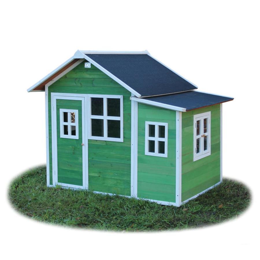 EXIT Dřevěný domeček Loft 150, zelený