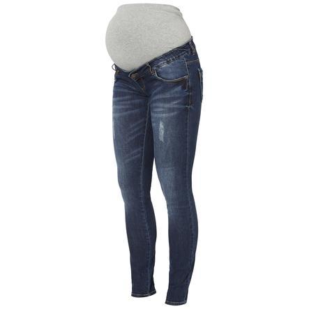 mama licious Jeans maternità MLUFA MLUFA Blu scuro Denim