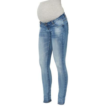 mama licious gravid jeans MLSIDNEY Light Blue Denim