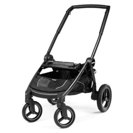 Peg-Perego Châssis de poussette 4 roues Team mat/noir