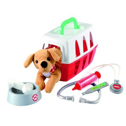 ecoiffier Medical - Veterinær lekesett i kofferten