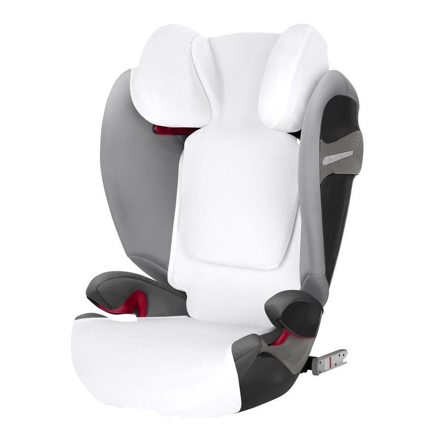 cybex GOLD Housse été pour siège auto Pallas S-Fix/Solution S-Fix blanc