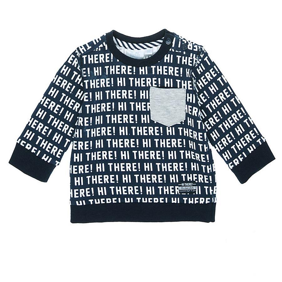 Feetje Sweatshirt Hi Er is een marinepatroon in marinepatroon