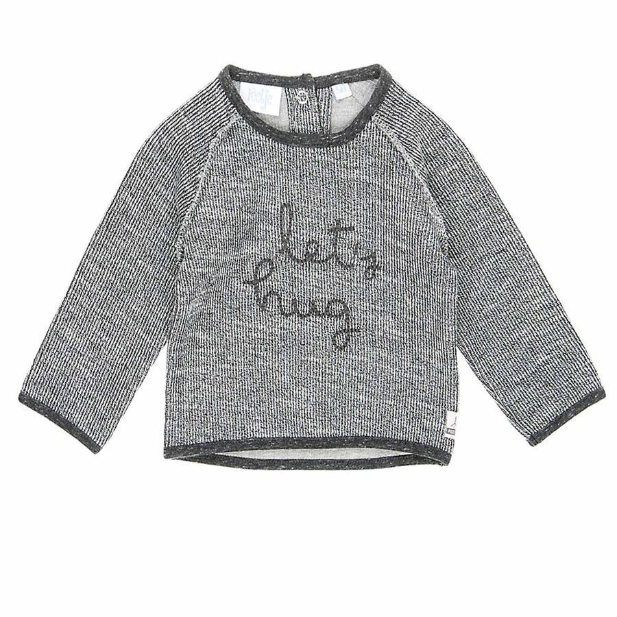 Feetje Sweatshirt La oss klemme Sketchy grey melange