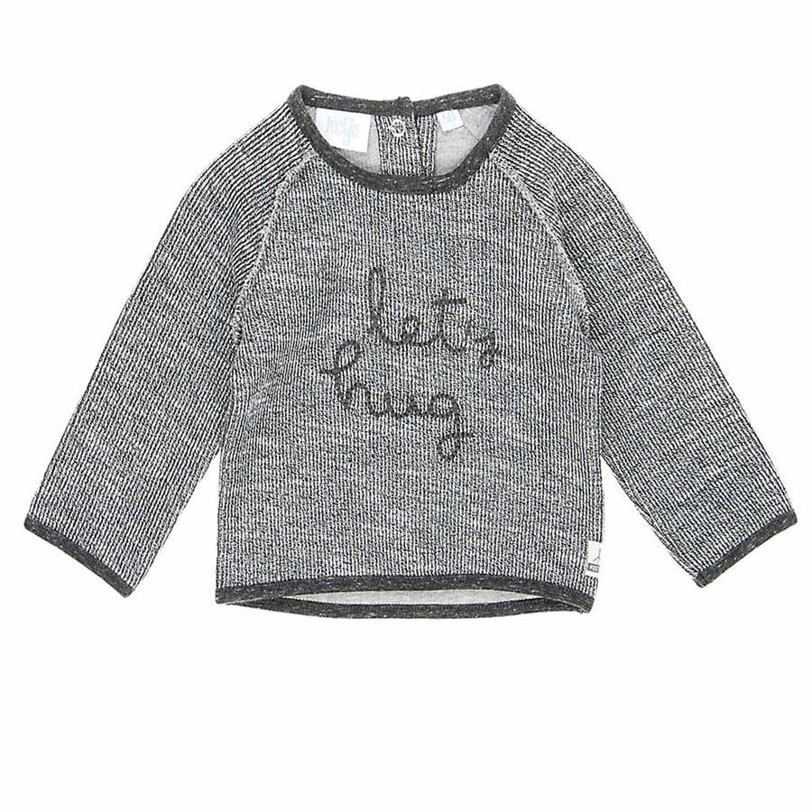 Feetje Sweatshirt Let´s hug Sketchy grau melange