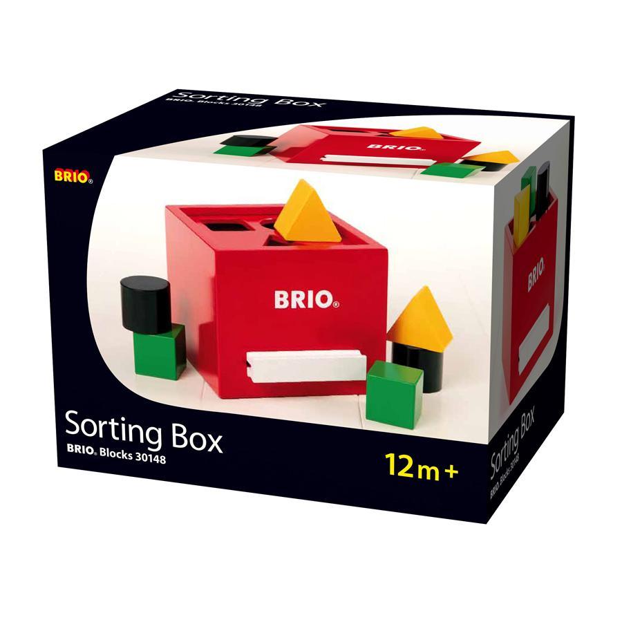 BRIO Sortierbox, rot 30148