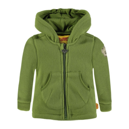 Steiff Sweatjacke Fleece, grün