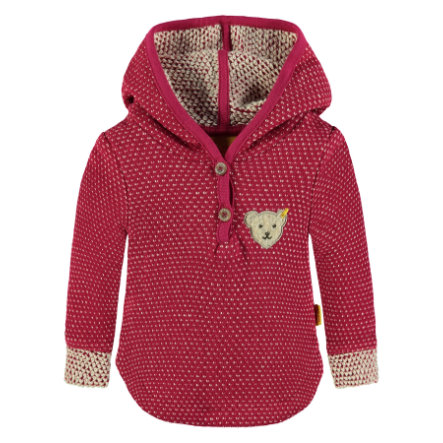 Steiff Girls Sweatshirt, rot