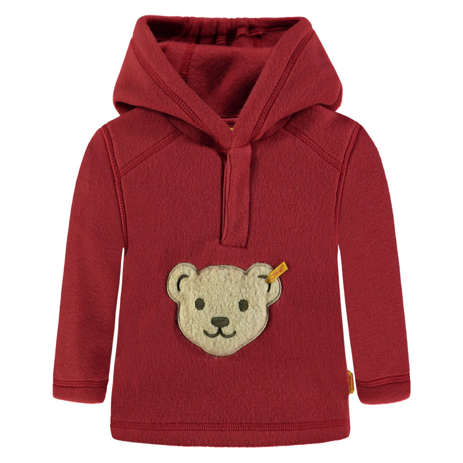 Steiff Sweatshirt Fleece, rostrot