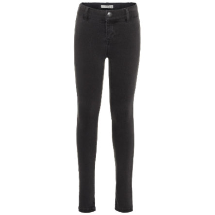 name it Girls Jeans Polly dark grey denim