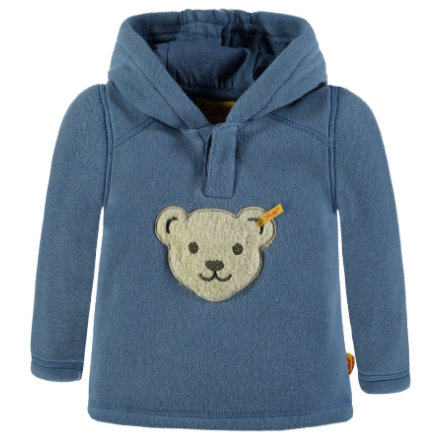 Steiff Boys Sweatshirt Fleece, blau