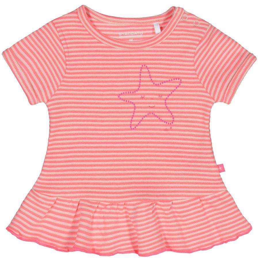 STACCATO Girl tunica s tunica 1/2 manica a righe pastello color pesca