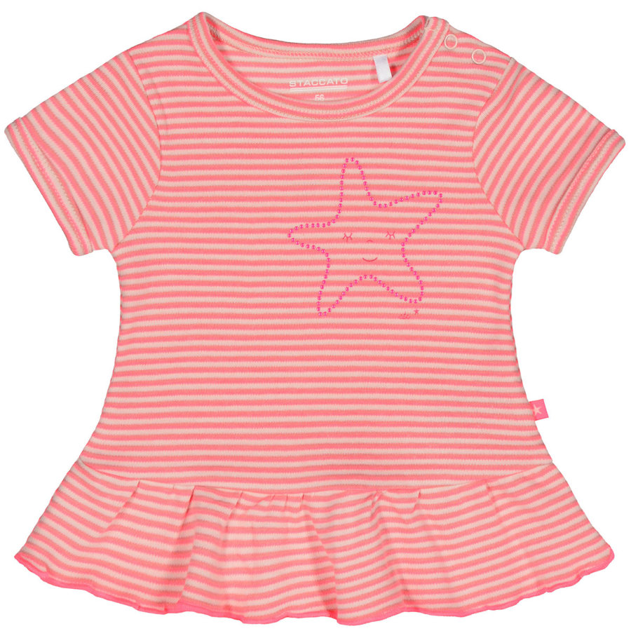 STACCATO Girls Tunika 1/2 Arm pastel peach Streifen