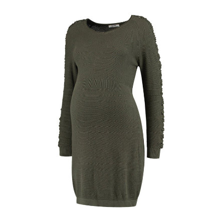 LOVE2WAIT Moederschap jurk gebreid groen