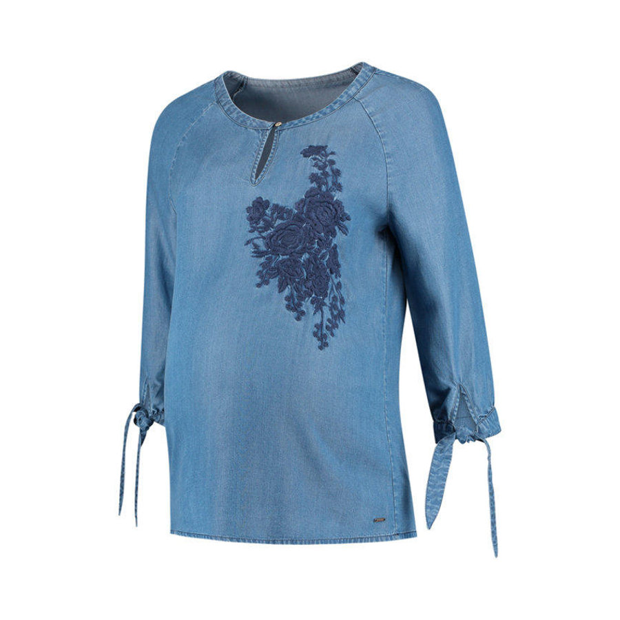 LOVE2WAIT Blouse en jean - Lavage de la pierre