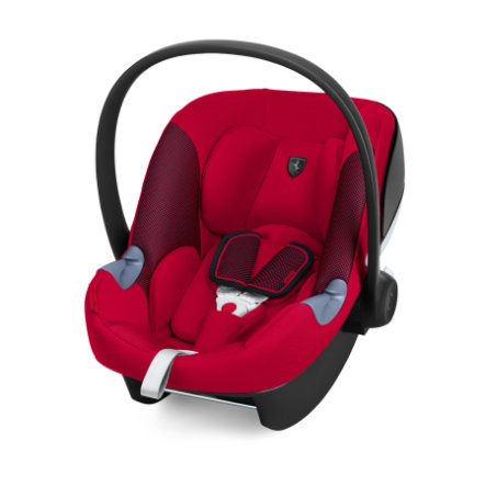 cybex babyskydd aton m i size racing red. Black Bedroom Furniture Sets. Home Design Ideas
