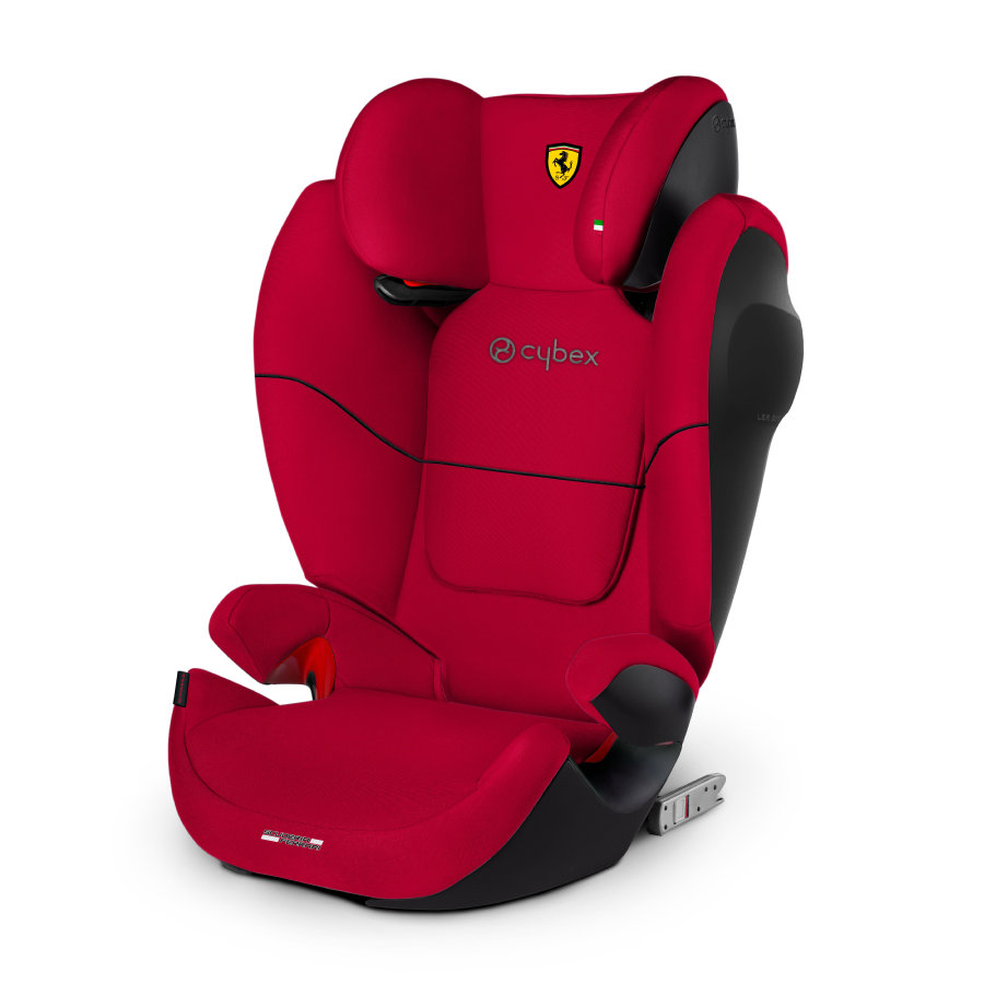 Cybex Autostol Solution M-fix SL Scuderia Ferrari Racing red