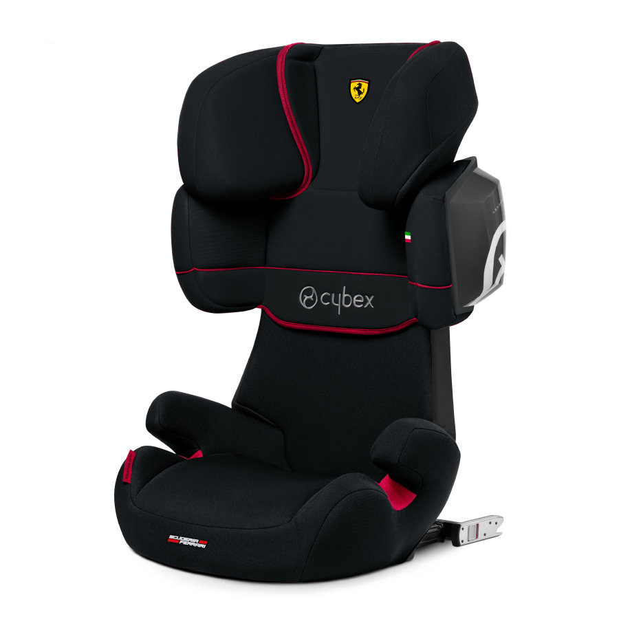 cybex SILVER Kindersitz Solution X2-fix Scuderia Ferrari Victory Black