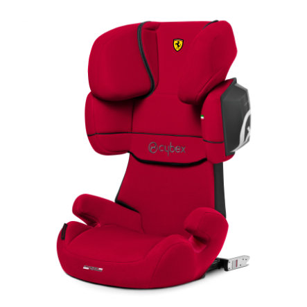 cybex SILVER Kindersitz Solution X2-fix Scuderia Ferrari Racing Red