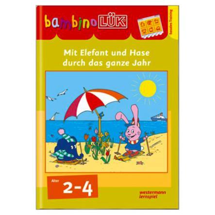 bambinoLÜK - Mit Elefant und Hase durch das ganze Jahr