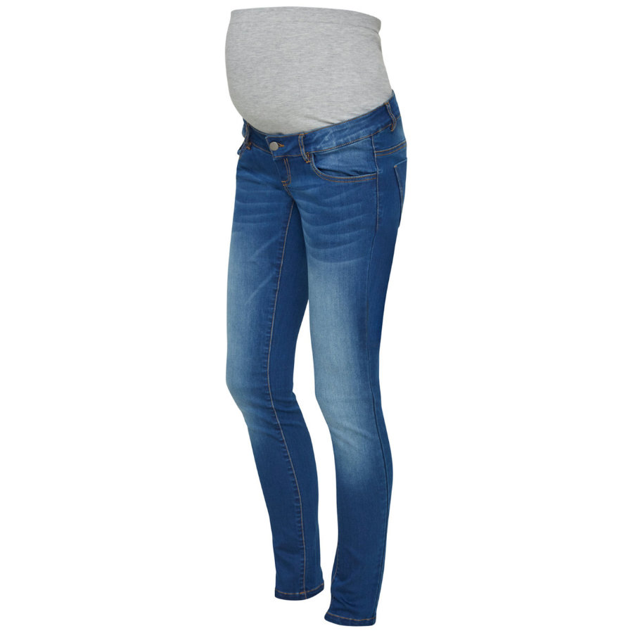 finest selection 2e025 27e46 mama licious Jeans premaman MLFIFTY Medium Blue Denim