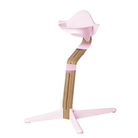 nomi by evomove Dětská židlička Oak Natur Oil/Pink