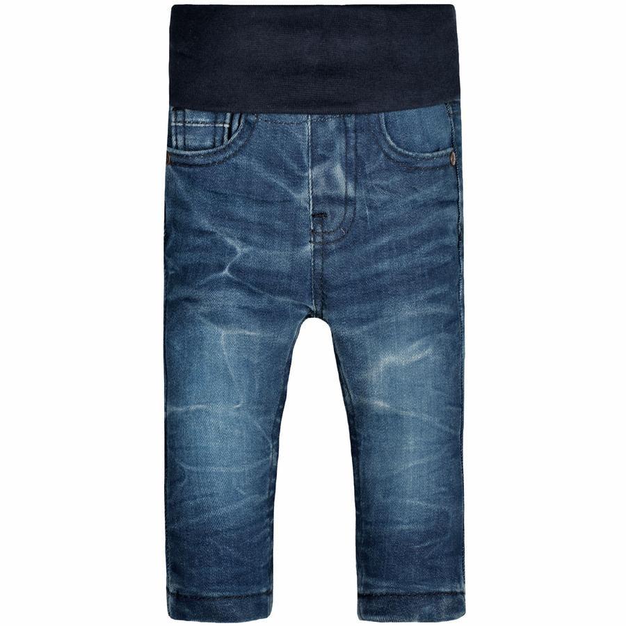 STACCATO Jeans med mellanblått denim