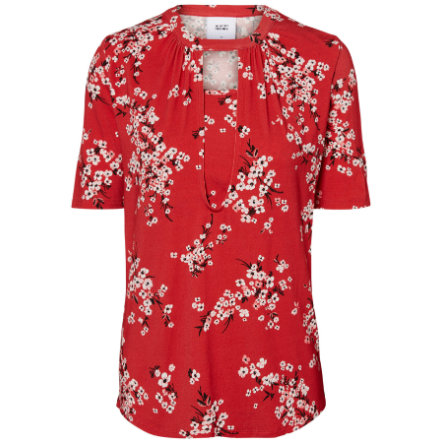 mama licious camisa de lactancia MLIBEN Rojo Chino