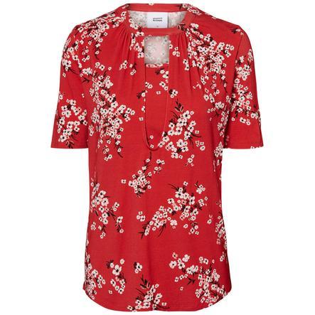 mama licious Stillshirt MLIBEN Chinese Red