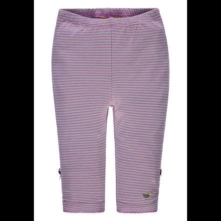 Steiff Girls Leggings, rosa gestreift