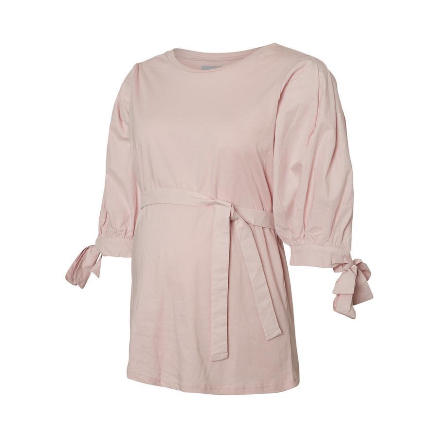 mama licious Koszulka ciążowa MLVALLA Burnished Lilac