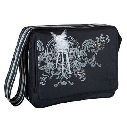 LÄSSIG Luiertas Messenger Bag Classic Design world of bambi black