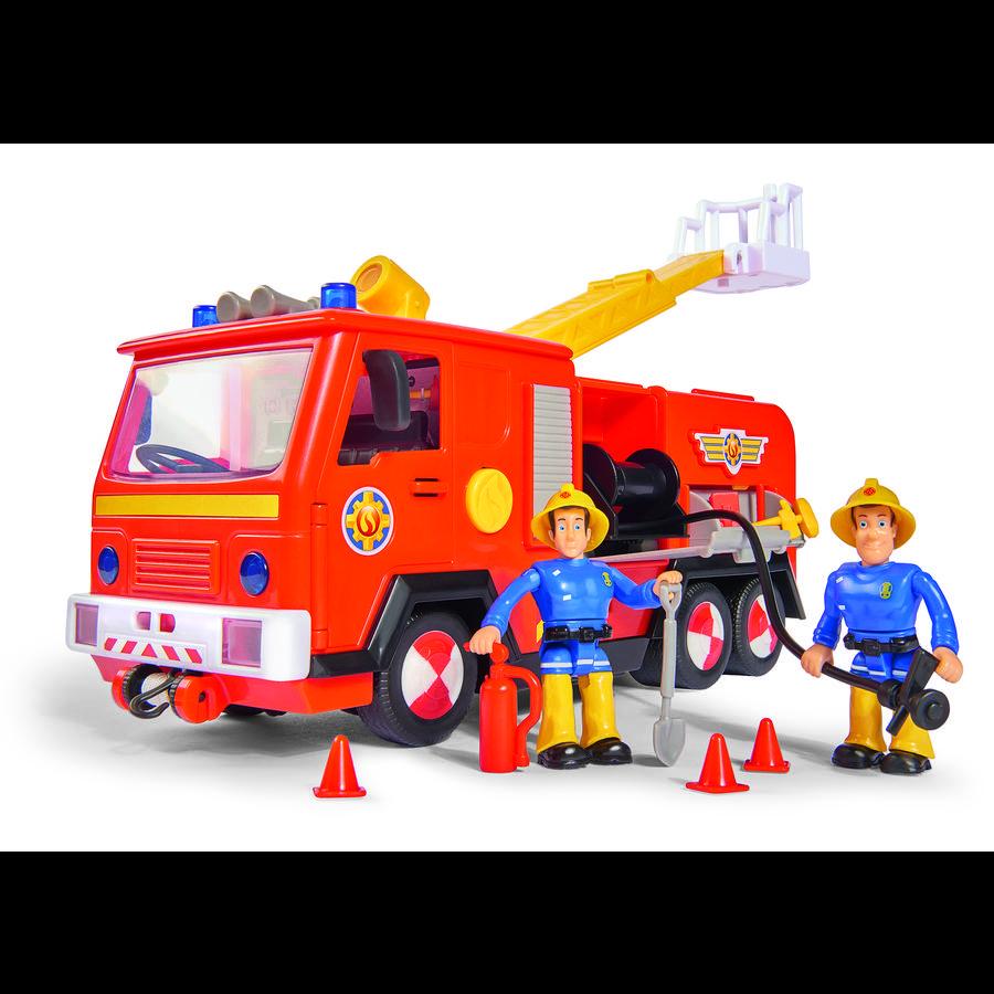 Simba Camion de pompier Jupiter 2.0, 2 figurines