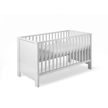 SCHARDT Milano blanc Lit bébé évolutif 70x140 cm