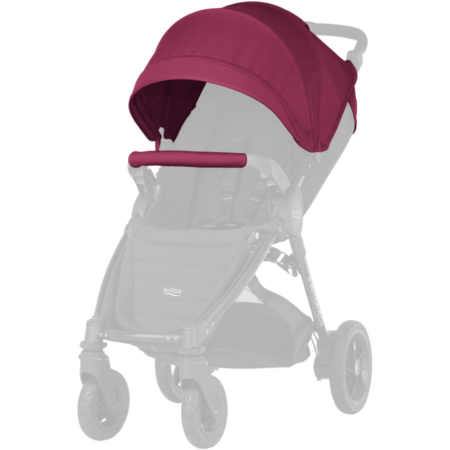 Britax Set Cappottina e bracciolo B-Motion / B-Agile Wine Red