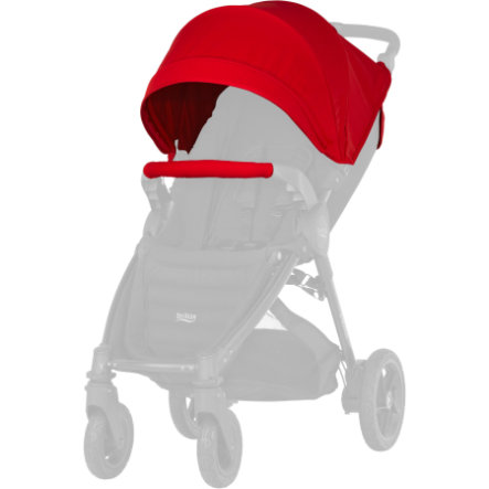 Britax Set Cappottina e bracciolo B-Motion / B-Agile Flame Red