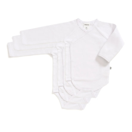 JACKY Body cache-coeur BASIC blanc lot de 3