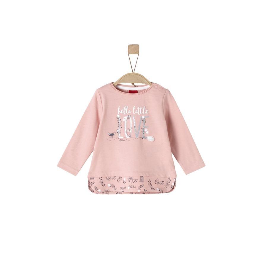 s.Oliver Girls Lang skjorte støvete rosa